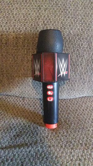 Wwe microphone for Sale in Hedgesville, WV