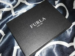FURLA Black Leather Woman's Wallet ( new w/ box,dust cover & $128 tags) for Sale in Elk Grove, CA