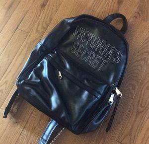 NWOT VICTORIAS SECRET SHOW STUDDED FAUX LEATHER BACKPACK for Sale in Frederick, MD