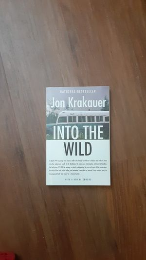 Into the wild -book- for Sale in Rancho Cucamonga, CA