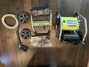 New in open Box Ryobi 2,000 PSI Electric Pressure Washer for Sale in Atlanta, GA