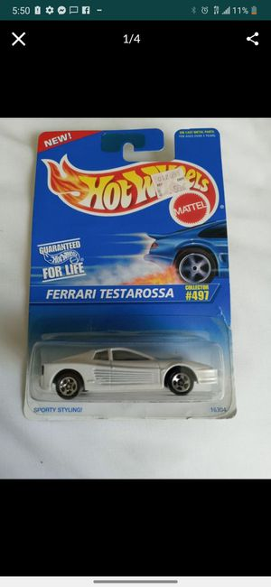 "Hotwheels ""Ferrari Testarossa"" - 1996 - #16304 for Sale in St. Louis, MO"