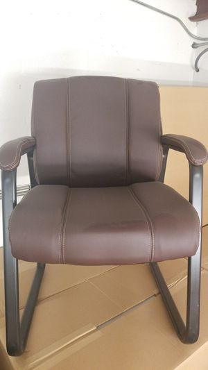 Brown office chairs - like new. $80 each for Sale in St. Petersburg, FL