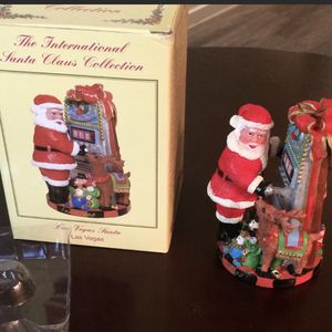 The International Santa Claus Collection Las Vegas. $74 Santa which is part of the international santa claus collection sc18 1994. it is in like n for Sale in Gilbert, AZ