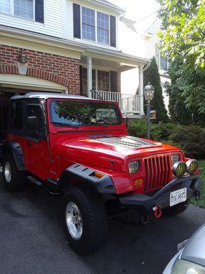 95 jeep wrangler 5speed 4cylindros 190, millas for Sale in Manassas, VA