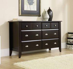 6 drawer dresser dark brown new for Sale in Houston, TX