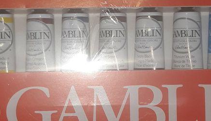 Gamblin Artist's Grade Oil Color Set Hum for Sale in Seattle,  WA