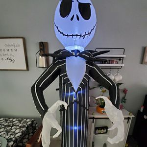 disney nightmare before christmas inflatable for Sale in Apple Valley, CA