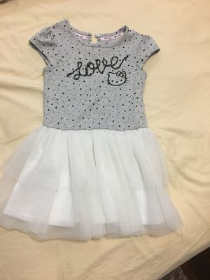 Hello kitty toddler girl dress size 3T for Sale in Gardena, CA
