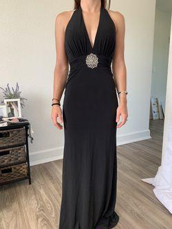 Black halter prom dress for Sale in Peoria,  IL