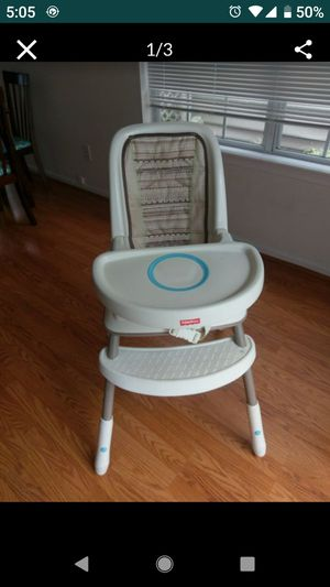 Fisher Price high chair for Sale in Virginia Beach, VA