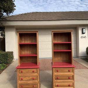 Twin Dressers w/ Bookshelves for Sale in San Diego, CA