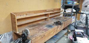 Custom wooden work bench for Sale in Jefferson, MD