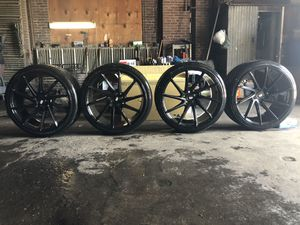 Savini rims ,nitto invo tires for Sale in Philadelphia, PA