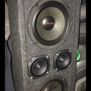 "8"" Chuchero Come With Pioneer Radio I Have 2 Eqs for Sale in Wood-Ridge, NJ"