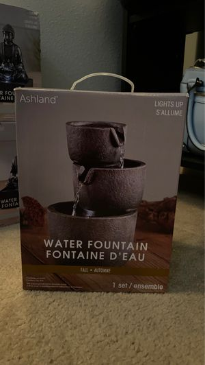 NEW water fountain $25 OBO for Sale in Kissimmee, FL
