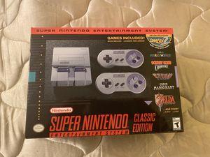 SNES Classic edition for Sale in Carson, CA