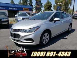 2017 CHEVY CRUZE LS. EXCELLENT CONDITION EXTRA CLEAN RUNS GREAT LOW PRICE LOW PAYMENTS!! Clean title. Financing available warranty available. for Sale in Ontario, CA