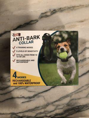 Anti Bark Collar -NEW for Sale in Hazlet, NJ