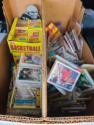 Unopened card packs basketball baseball for Sale in Ontario, CA
