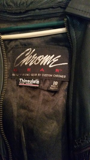 Motorcycle jacket/vest for Sale in Winchester, CA