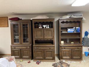 3 piece china hutch set for Sale in Wichita, KS