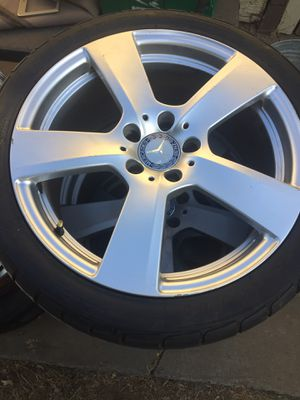 Benz wheels and tires new for Sale in Clovis, CA