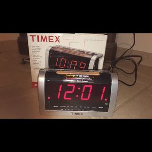 TimeX Jumbo Alarm Clock for Sale in Vernon, CT