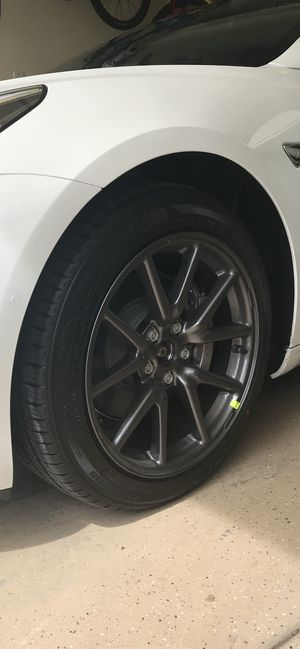 Tesla Aero Wheels and tires for Sale in Chula Vista, CA