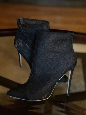 Lace Black Bootie for Sale in Damascus, MD
