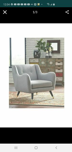 Brand New Gorgeous Grey Tufted Armchair for Sale in Mesa, AZ
