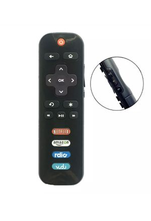 IR Remote Control for HISENSE Roku TV with NETFLIX amazon Rdio Vudu app keys for Sale in San Gabriel, CA