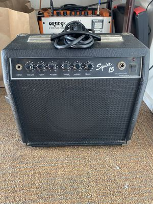Squier 15 amp for Sale in Portland, OR