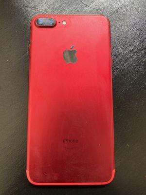 apple iphone 7 plus 128gb red edition for Sale in Atlanta, GA