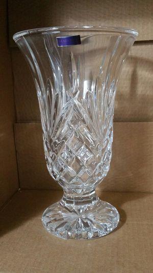 "10"" Footed Crystalline vase Marquis by Wateford for Sale in Gresham, OR"
