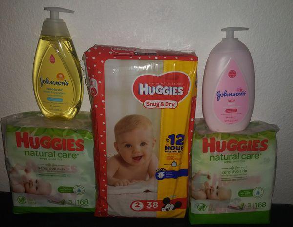 Huggie size #2 bundle $15
