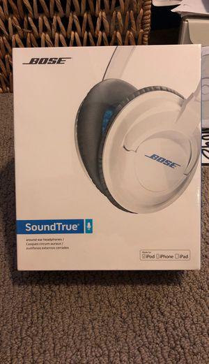 Bose SoundTrue Headphones Brand new for Sale in Tukwila, WA