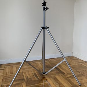 Silver Metal Photo Light Stands for Sale in Brooklyn, NY