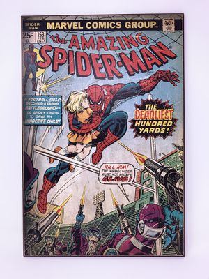 #153 The Amazing Spider-Man Comic Wooden Plaque for Sale in Garden Grove, CA