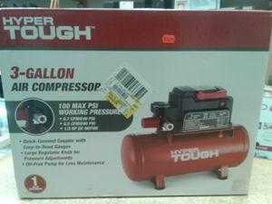 Hyper Tough 0100311A 3-Gallon Air Compressor for Sale in Baltimore, MD