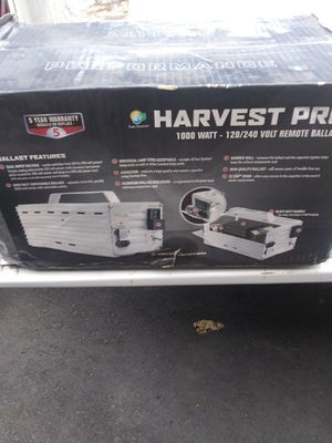 Harvest pro remote ballast 1000 watt 120/240 brand new for Sale in Lake Stevens, WA