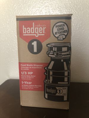 Food waste disposer for Sale in Houston, TX