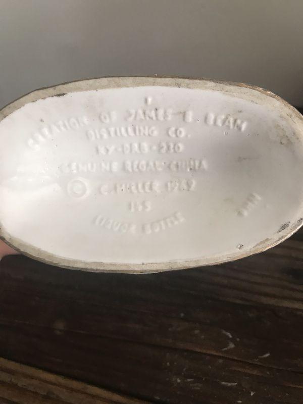 Antique Jim Beam bottle