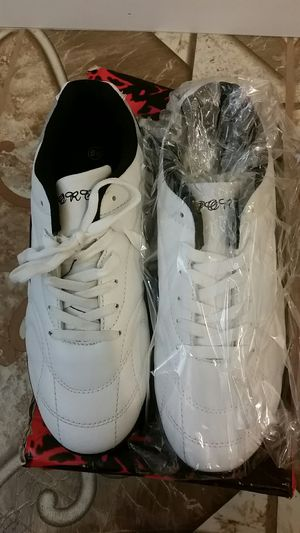 Mens white cleats for Sale in Wichita, KS