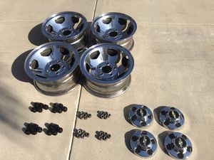 454 SS/454SS/SS454/SS 454 Wheels with Lugs Fits 1970-2000 for Sale in Agua Dulce, CA
