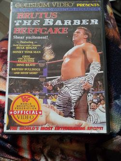 Wwf Brutus The Barber Beefcake Dvd for Sale in Chicago,  IL