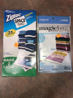 Vacuum Seal Bags - 3 Large for Sale in Vail, AZ