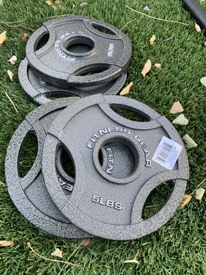 5 lb Olympic 2 in cast plates (brand new!) for Sale in San Jose, CA