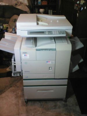 SHARP AR-450 LAZER PRINTER w/ AR-FN6 FINISHER for Sale in Salt Lake City, UT