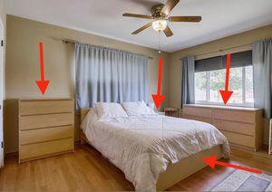 IKEA Malm Bedroom Set ( all 4-pieces) for Sale in La Mesa, CA